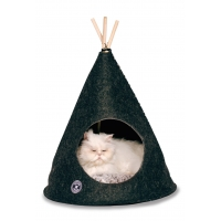 Danish Design Pet Teepee Grey 55 X 55 X 64cm