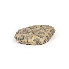 "Large+ Owl Print Cushion Dog Bed - Danish Design Woodland Owl 35"" - 89cm"