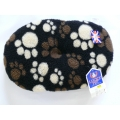 "Dog Bed Fluffy Polyester Liner Oval Cushion 20"" - 51cm Fur Cotton Lucky Pet"