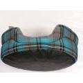 "Dog Bed Regal 42"" - 107cm Pet Bed Fur Lined Tartan Print Lucky Pet"