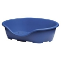 Perla Oval Dog Bed Blue 24""