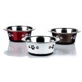 Classic Posh Paws Stainless Steel Cat Dish Assorted 240ml