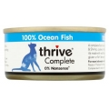 Thrive 100% Complete Wet Cat Food Ocean Fish 75g Can