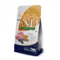 N&D Natural & Delicious Adult Cat Ancestral Grain Lamb, Spelt, Oats 1.5kg Dry Food