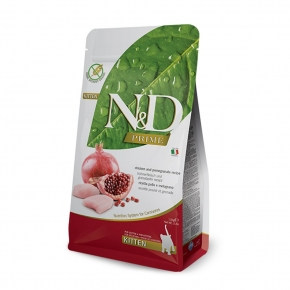 N&D Natural & Delicious Kitten Prime Chicken & Pomegranate 1.5kg Dry Food