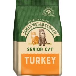James Wellbeloved Senior Turkey Cat Food 4kg