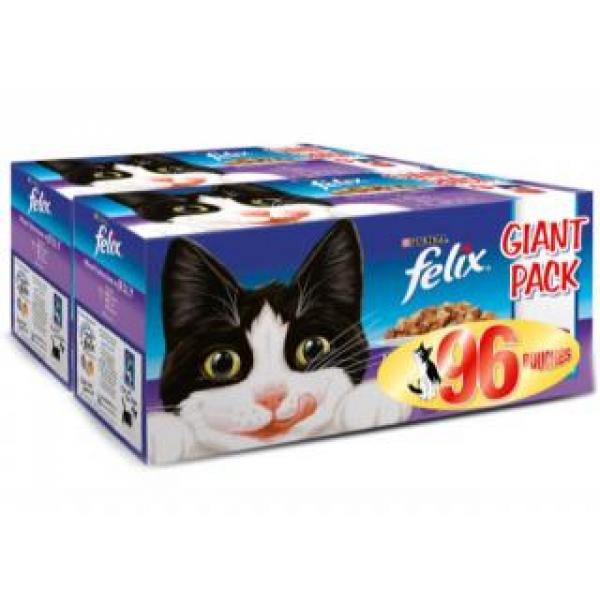 Felix Wet Cat Food  Box
