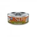 N&D Natural & Delicious Adult Cat Duck & Pumpkin 80g Wet Tin Food
