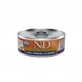 N&D Natural & Delicious Adult Cat Lamb, Pumpkin & Blueberry 80g Wet Tin Food