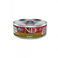 N&D Natural & Delicious Adult Cat Quinoa Urinary 80g Wet Tin Food