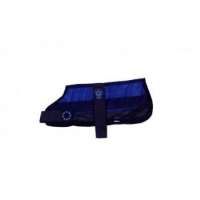 """Animate Cooling Dog Coat & Bag XS - 8 """" Navy"""
