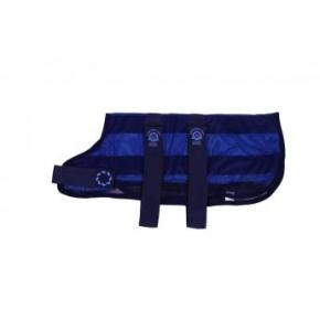 """Animate Cooling Dog Coat & Bag XX Large - 28 """" Navy"""