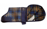 Animate Camel Watch Tartan Fur Coat 26""