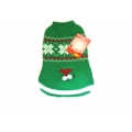 "Animate 12"" Green Tu Tu Snowflake Christmas Jumper"