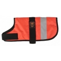 "Animate 24"" Unlined Hi - Vis Dog Coat Orange"