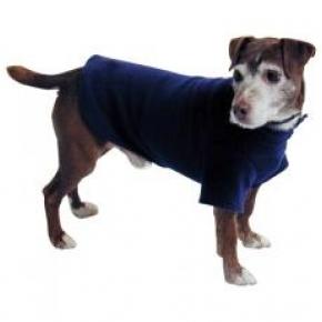 "Cosi Fleece Coat Blue 35cm - 14"""