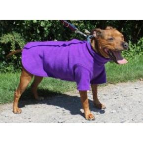 "Cosi Fleece Coat Purple 61cm - 24"""