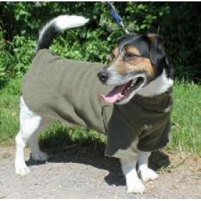 "Cosi Fleece Coat Sage 61cm - 24"""