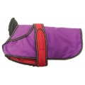 Danish Design 2 in 1 Four Seasons Performance Dog Coat Purple 25cm 10""