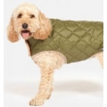 Danish Design Green Quilted Dog Coat 70cm 28""