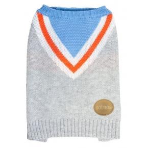 Sotnos Chevron Knit Sweater X-Large
