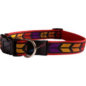 Chevrons Brights Adjustable Collar 1/2 Inch X 10 - 14 Inch (1.2 X 25 - 35cm) Hem & Boo
