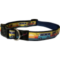 Camper Van Brights Adjustable Collar 1/2 Inch X 10 - 14 Inch (1.2 X 25 - 35cm) Hem & Boo