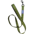 """Dog & Co Country Green Check Nylon Padded Handle Lead 1 """" X 48 """" Hemmo & Co"""