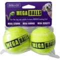 Dog & Co Mega Ball 2 Pack 2.5""