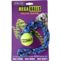Dog & Co Mega Ball With Rope 1.8""