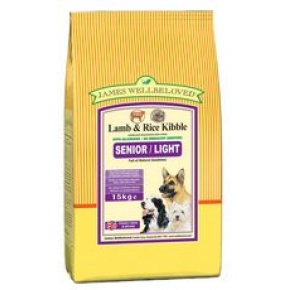 James Wellbeloved Dog Senior Lamb and Rice 15kg