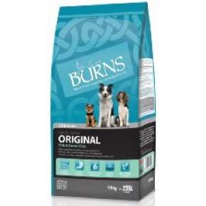Burns Adult and Senior Fish and Brown Rice 15kg Original Dog Food