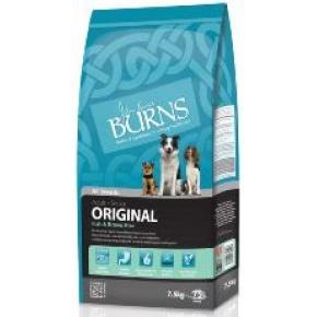 Burns Adult and Senior Fish and Brown Rice 7.5kg Original Dog Food