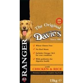 Davies Ranger Chicken & Rice 15kg