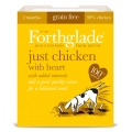 Forthglade Just Chicken With Heart 395g Adult Dog Grain Free