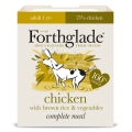 Forthglade Complete Meal Chicken With Brown Rice & Veg 395g Adult Dog