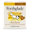 Forthglade Complete Meal Chicken With Liver, Brown Rice And Vegetables 395g Adult Dog