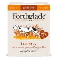 Forthglade Complete Meal Turkey With Sweet Potato & Vegetable 395g Adult Dog Grain Free