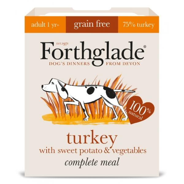 Forthglade Complete Meal Turkey With Sweet Potato