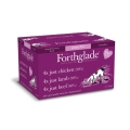 Forthglade Just Chicken & Lamb & Beef Dog Multipack 12 Pack 395g