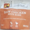 Pets Pantry Chicken With Bone 1kg Frozen Raw Dog Food
