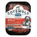 Cotswold Raw Mince 80/20 Active Beef 500g Dog Food Frozen