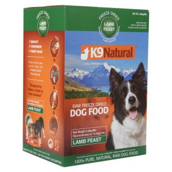 K Natural Freeze Dried Raw Dog Food Reviews