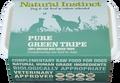 Natural Instinct Pure Raw Green Tripe Dog (2x 500g) Twin Pack Frozen