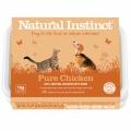 Natural Instinct Pure Raw Chicken Dog & Cat 1kg Frozen