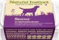 Natural Instinct Natural Senior Dog 1kg Frozen