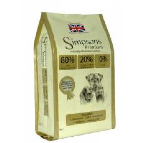 Simpsons Grain Free Dog Food