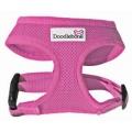 Doodlebone Padded Soft Air Mesh Dog Harness Large Pink