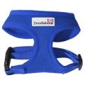 Doodlebone Padded Soft Air Mesh Dog Harness Large Royal Blue