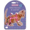 Kitty & Co Snag Free Kitten Harness & Lead Set Hem & Boo